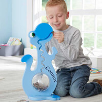 Large Personalized Piggy Bank For Boys - Dinosaur