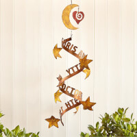 Stars Align Personalized Wind Sculpture