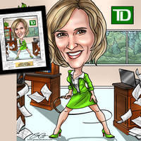 Your Boss Captured In A One-Of-A-Kind Caricature