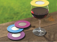 "Drink Topsâ""¢: Ventilated Wine Drink Covers"