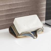 Ceramic Self-Draining Soap Dish