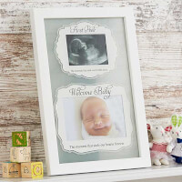 First Peek Ultrasound Baby Picture Frame