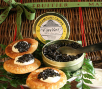 Caviar Chest (2 Oz. Osetra Caviar)