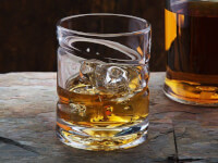 Helix Whiskey Glass: Spinning Whiskey & Spirits..