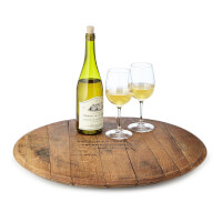 Custom Bourbon Barrel Lazy Susan