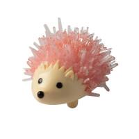 Crystal Growing Hedgehog - Pink