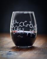 Wine Chemistry Stemless Glass