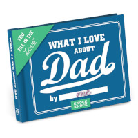 What I Love About Dad Fill In The Love Journal
