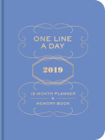 One Line A Day 2019 12-Month Planner & Memory Book