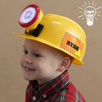 Personalized Kids Construction Hard Hat