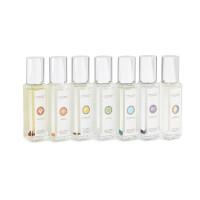Crystal-Infused Chakra Essential Oils Set
