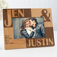 Romantic Personalized Picture Frames - Because..