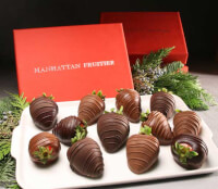 Belgian Chocolate-Dipped Strawberry Sampler