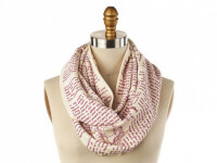 STORIARTS: Book Themed Infinity Scarf - Charlie..