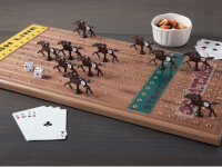 Across The Board: Wooden Tabletop Horseracing Game