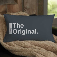 The Legend Personalized Lumbar Throw Pillow