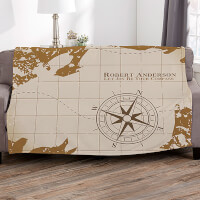 Compass Inspired Graduation Personalized 60x80..