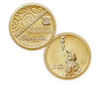 The American Innovation Dollar Coin Collection..