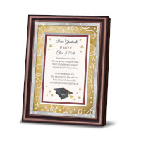 Dear Graduate Personalized Framed Poem With Name..