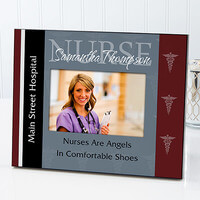 Personalized Nurse Picture Frames