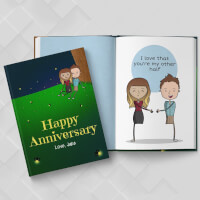Personalized Anniversary Book | LoveBook Online..