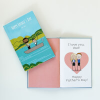 LoveBook Why I Love Dad Personalized Fathers..