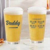 Established Custom Printed 16oz. Pint Glass