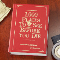 1,000 Places To See Before You Die Personalized..