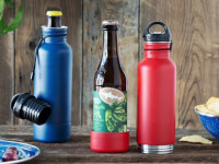 BottleKeeper: Insulated Beer Bottle Holder