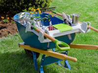 Little Burros: Wheelbarrow Organization Shelf -..