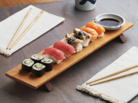 Sabbath-Day Woods: Sushi Serving Board & Soy..