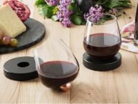 Aura Glass: No-Spill Aerating Wine Glass
