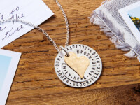 Becoming Jewelry: My Whole Heart Layered Necklace