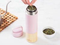 Welly Bottle: Bamboo Infuser Travel Bottle