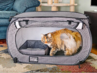 Necoichi: Collapsible Travel Cat Crate