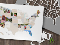 Thunder Bunny Labs: Personalized 50 States Photo..
