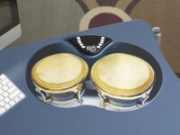 Rock And Roll It: Flexible Roll-Up Bongos