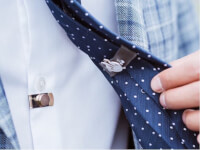 CLIP OFF®: Magnetic Invisible Tie Stay