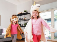 Wild & Soft: Plush Hooded Animal Cape
