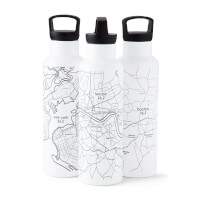 Marathon Map Hydration Bottles