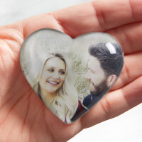 Romantic Photo Personalized Mini Heart Keepsake