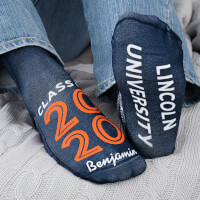 Graduating Class Of Personalized Graduation Socks