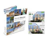 World Coin Collection With Free Album And Travel..
