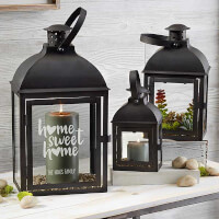 Home Sweet Home Personalized Candle Lantern 3..