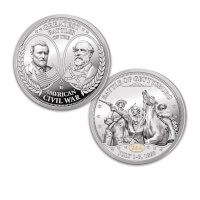 The Greatest Battles Of The Civil War Proof Coin..