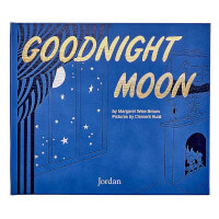 Goodnight Moon Personalized Leather Book