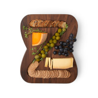 Monogram Cheese & Crackers Serving Board