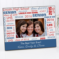 Personalized Picture Frames - School Spirit