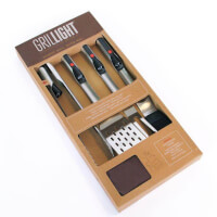 Grill Tools With Light Gift Set