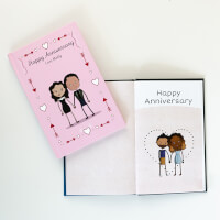 Personalized First Anniversary Book | LoveBook..